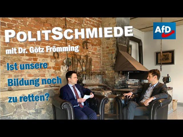 26.02.2021 PolitSchmiede mit Dr.Götz Frömming