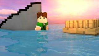 O TUBARÃO | The Shark (Minecraft Animation)