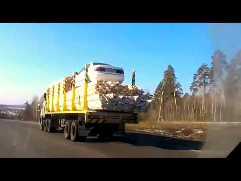 Лучшие Автоприколы на дорогах России, подборка дорожных приколов, автоюмор, смешные видео на дороге