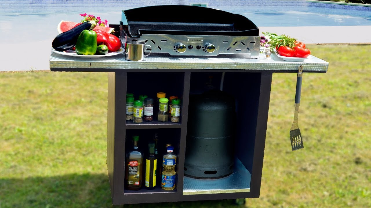 Ilot Central Pour Manger make an outback stand for plancha
