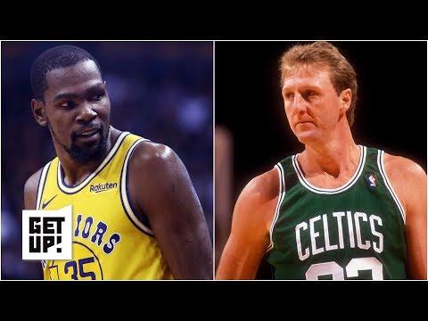 Kevin Durant isn't on Larry Bird's level yet - Jalen Rose l Get Up!