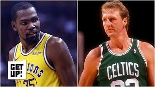 Download Kevin Durant isn't on Larry Bird's level yet - Jalen Rose l Get Up! Mp3 and Videos