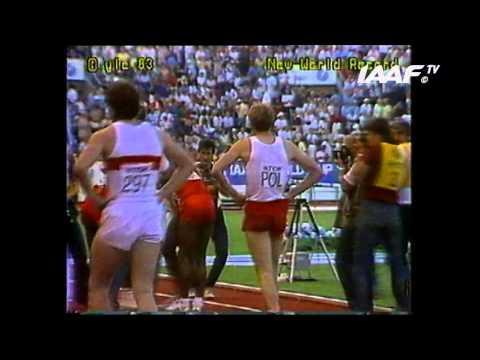 World Records - 4x100m Men Final Helsinki 1983