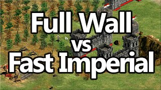 What To Do Vs Walls Excellent AoE2 Strategy