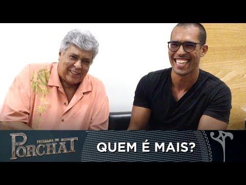 """EXCLUSIVO: SIDNEY MAGAL E SEU FILHO PARTICIPAM DO """"QUEM É MAIS?"""""""