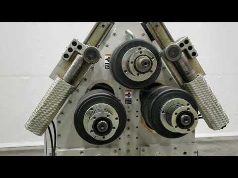 """Akyapak 5"""" X 5"""" X ½"""" Profile And Pipe Bender Machine, Model APK 121, Www.vanderzielmachinery.com"""