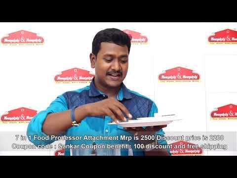 7 in 1 Food Processor Meenakshi And Meenakshi