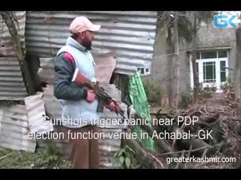 Gunshots trigger panic near PDP election function venue in Achabal