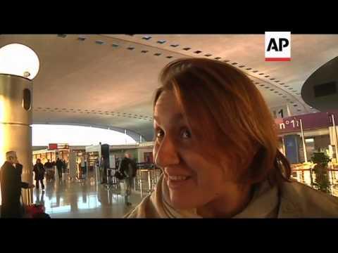 French Strike Grounds Hundreds Of Flights
