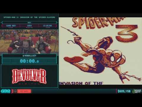 Spider-Man 3: Invasion of the Spider-Slayers by KowalLazy in 15:56 AGDQ 2018