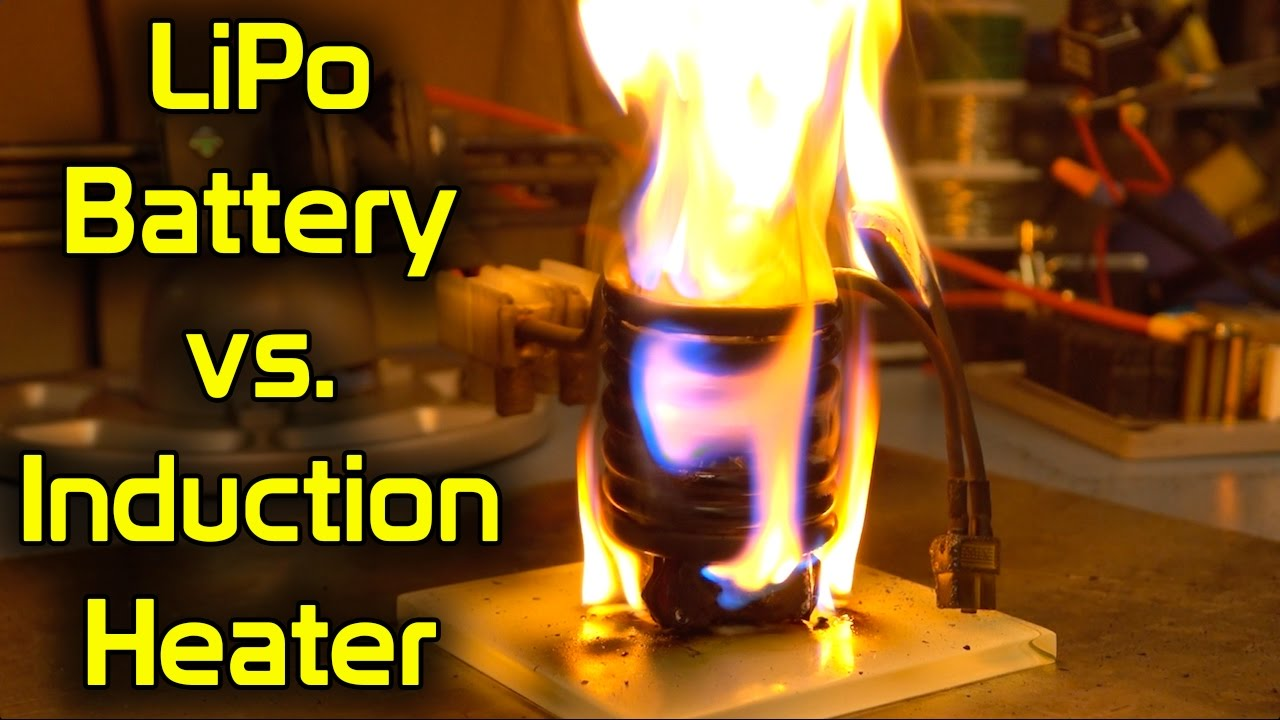 lipo battery vs induction heater youtube. Black Bedroom Furniture Sets. Home Design Ideas
