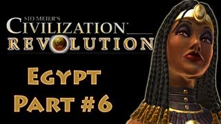 Civilization Revolution Egypt 6 Gameplay Tutorial on Deity (Let