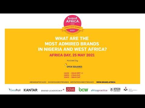 Brand Africa 2021:  Most Admired Brands in Nigeria