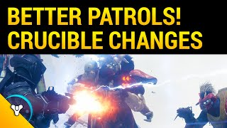 Major Improvements to Public Events & Crucible