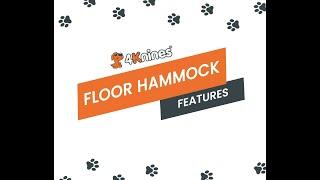 4Knines Crew Cab Dog Floor Hammock Features