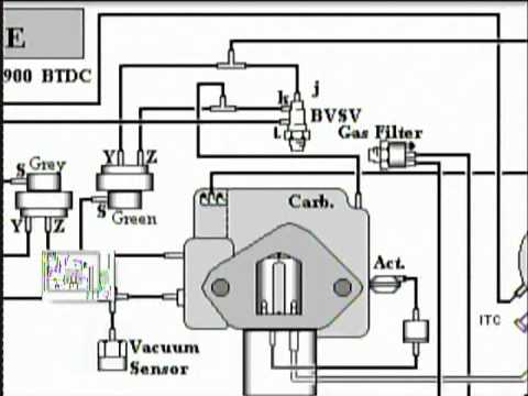 vacuum diagram on toyota 2e engine youtube rh youtube com Toyota Camry Electrical Wiring Diagram 2008 Toyota Truck Coil Schematic