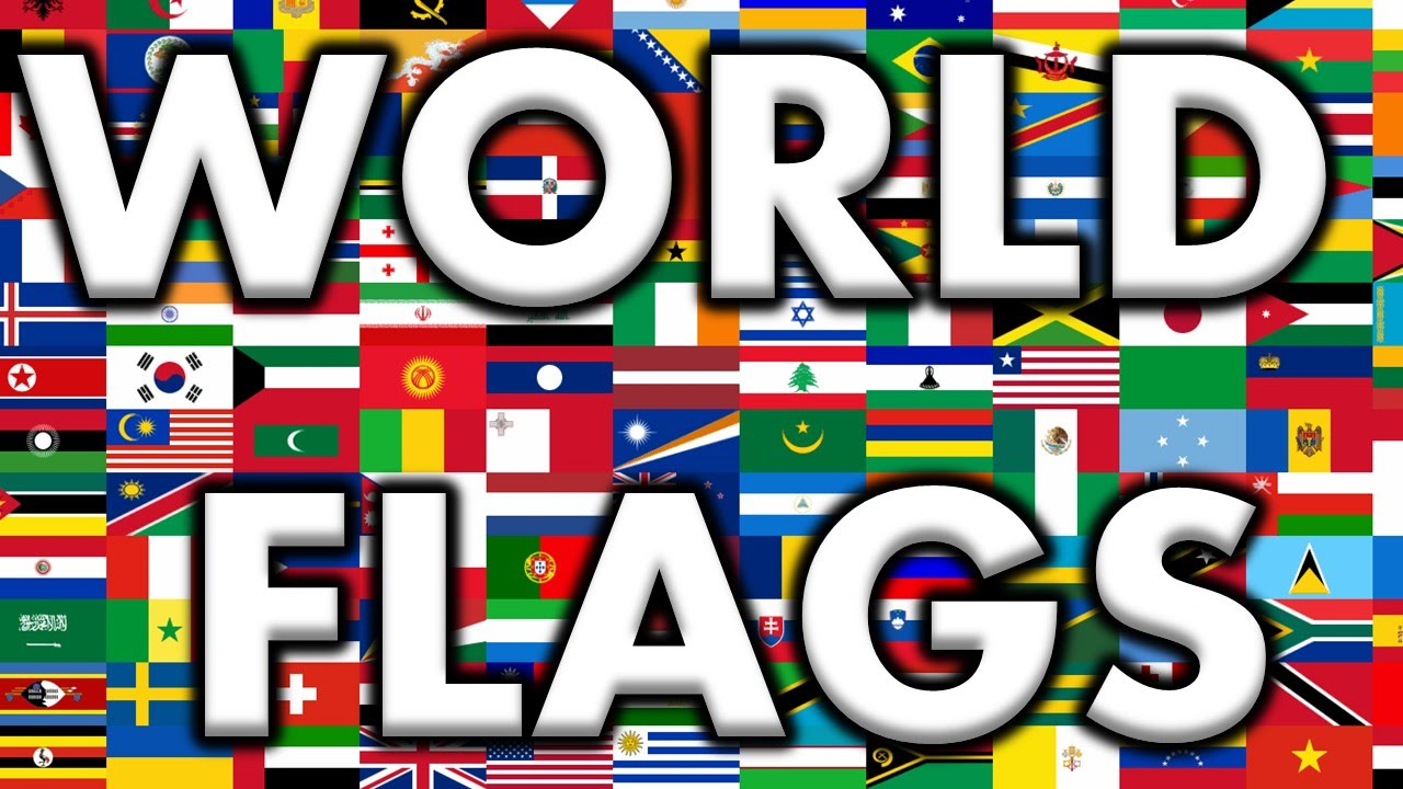 World Flags Country Names And National Flag You
