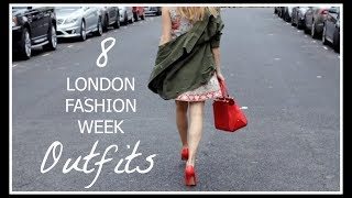 My London Fashion Week Outfits | Niomi Smart