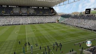 Corinthians x Palmeiras - Arena Corinthians - FIFA 15 PC 60fps