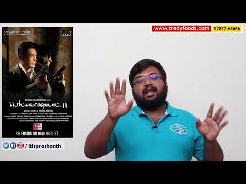 Vishwaroopam 2 review by Prashanth