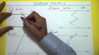 Doğruda Açılar 2 Şenol Hoca Matematik