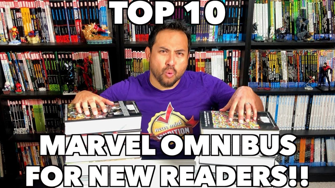 Top 10 Marvel Omnibus for New Readers!