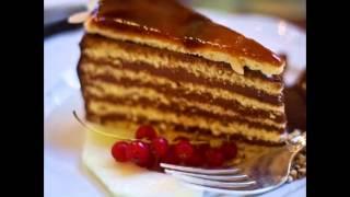 Торт Добош - венгерский торт, рецепт