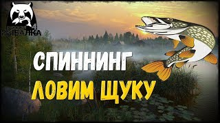 РУССКАЯ РЫБАЛКА 4 - ЛОВИМ ЩУКУ НА СПИННИНГ!