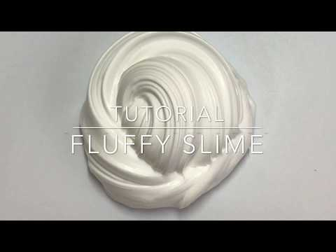 HOW TO MAKE FLUFFY SLIME