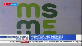 Co-op Bank of Kenya launches programme to mentor MSME\'S