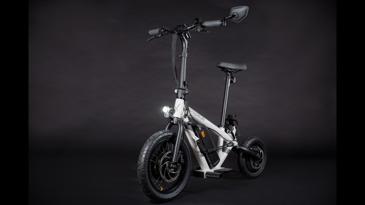 STEEREON C25 - Hybrid aus E-Bike und E-Scooter