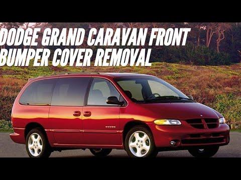 Dodge grand Caravan front bumper cover removal