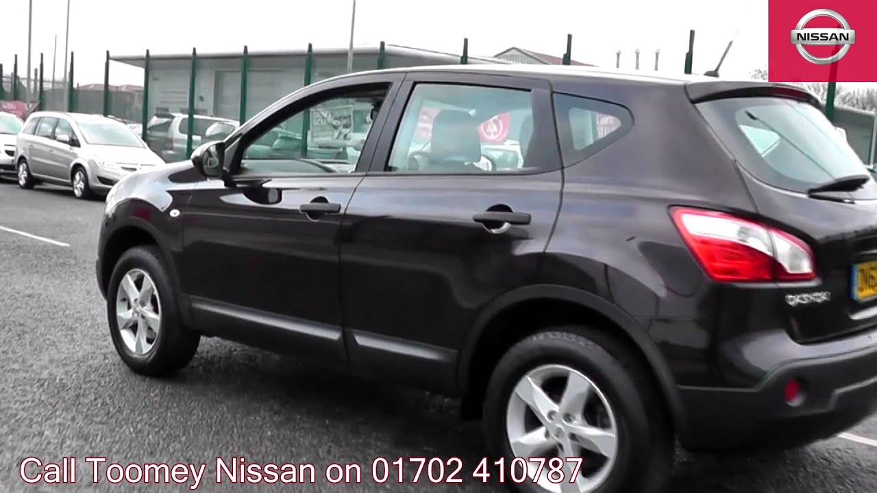 2010 nissan qashqai visia nightshade dn60bzs for sale at toomey nissan southend youtube. Black Bedroom Furniture Sets. Home Design Ideas