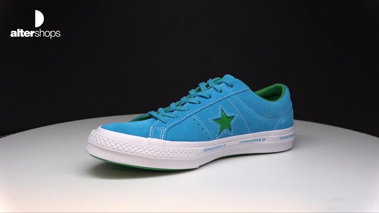 b2e8cf04df5559 Converse One Star OX 159813C - YouTube