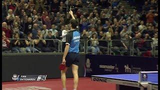 ドイツOP 男子シングルス準決勝 オフチャロフ(ドイツ)vs樊振東(中国)