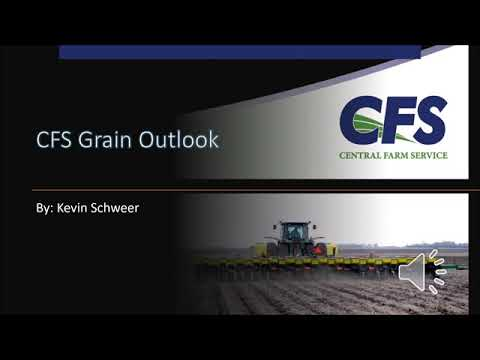 2020 08 20 CFS Grain Marketing Outlook   Kevin Schweer, CFS Grain Marketing Advisor Merchandiser