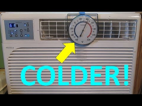 How To Make Your A/C Colder!