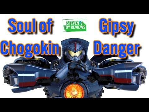 Soul of Chogokin GX 77 Gipsy Danger Review and Unboxing