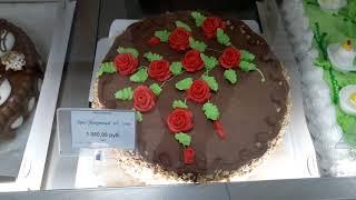 """Влог: Магазин """"Надежда"""" - торты из детства (Южно-Сахалинск)"""