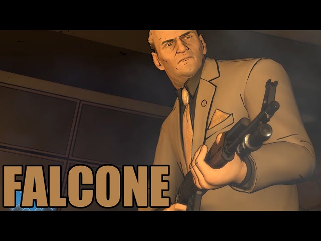Batman - The Telltale Series - Falcone Fight Scene