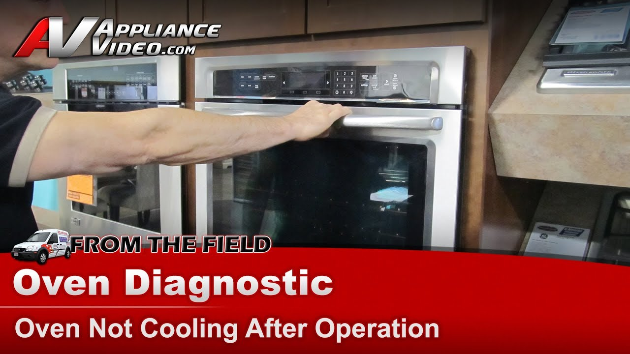 Whirlpool & Maytag - Fix for Ovens Not Cooling down & staying too hot after  use
