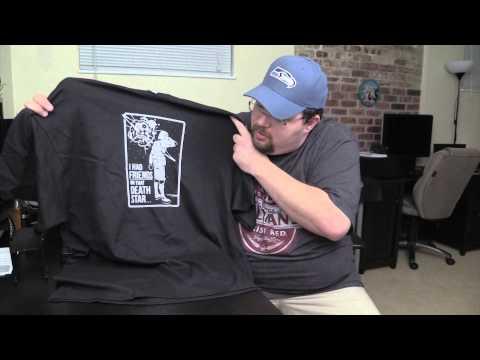 6 Dollar Shirts - Geek T-Shirt Unboxing