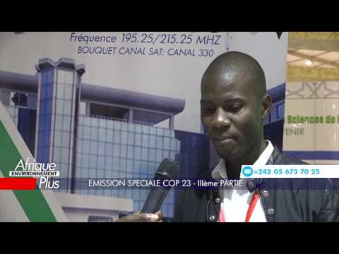 Interview réalisés sur le stand TELE CONGO / ENERGIES 2050