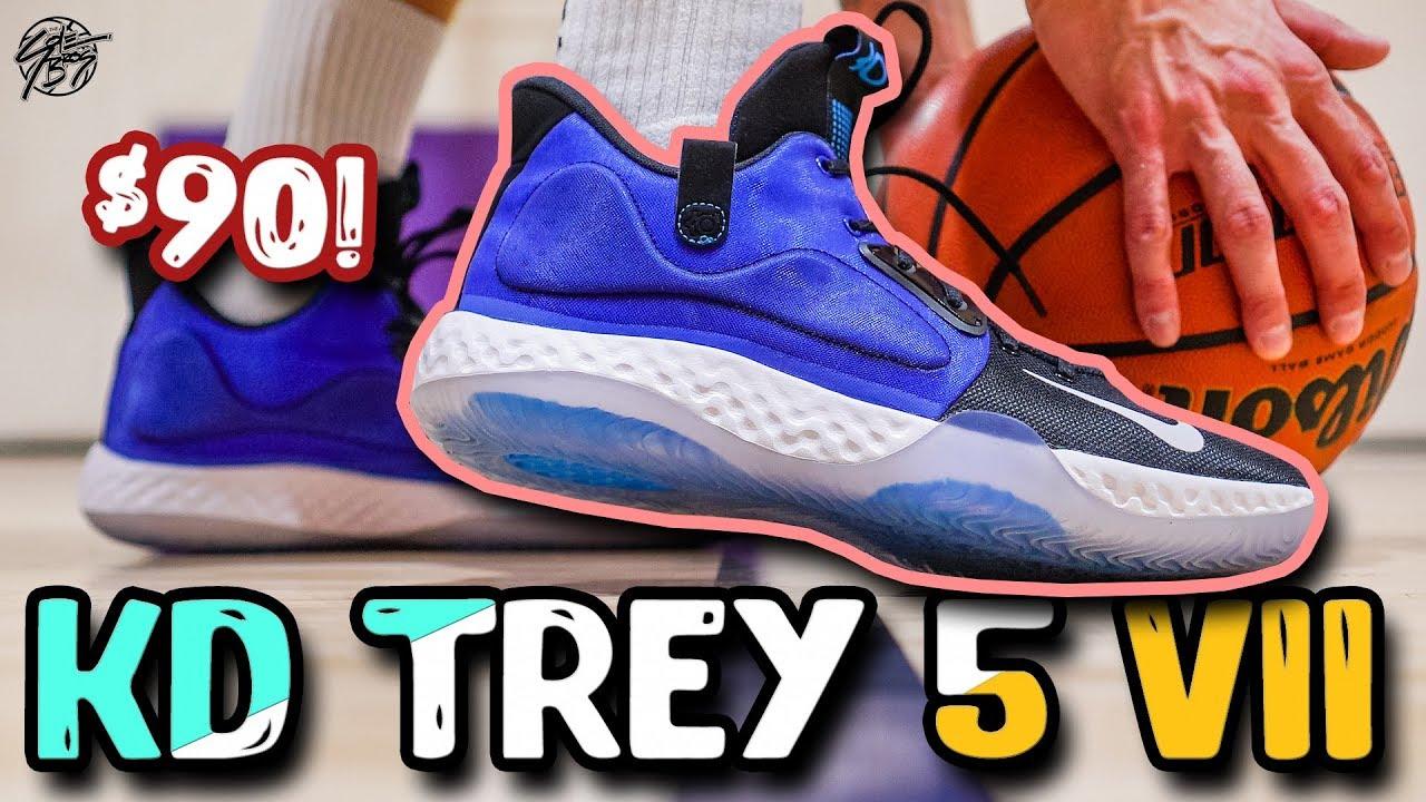 Nike KD TREY 5 VII Performance Review