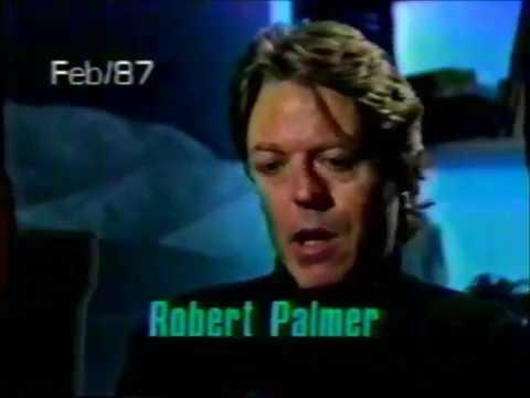 Robert Palmer interview 1987