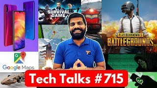Tech Talks #715 - Redmi Note 7 Pro, PUBG India BAN, Moto Folding Phone, S10 Plus Photo, Android Q
