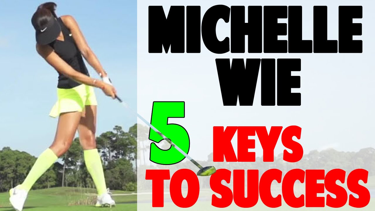 Michelle Wie Golf Swing