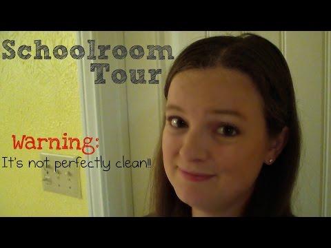 Homeschool Schoolroom Tour