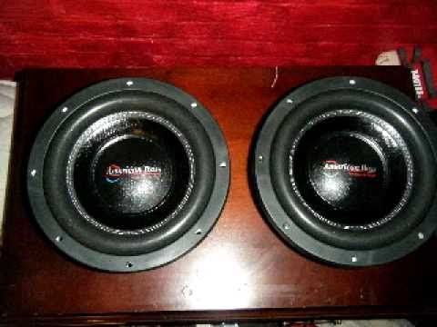 New Things!! American Bass Xfl 10'' Subwoofers