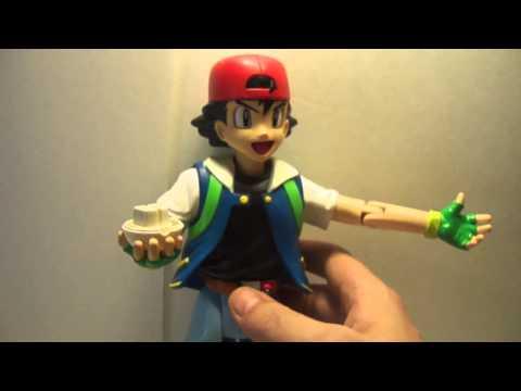Pokemon Ash talkin action figure